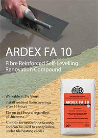 Ardex FA 10 Brochure