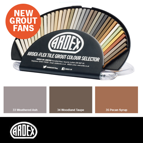 Completely new Tile Grout Colours | Ardex Building Products | Tile Colours  PR51