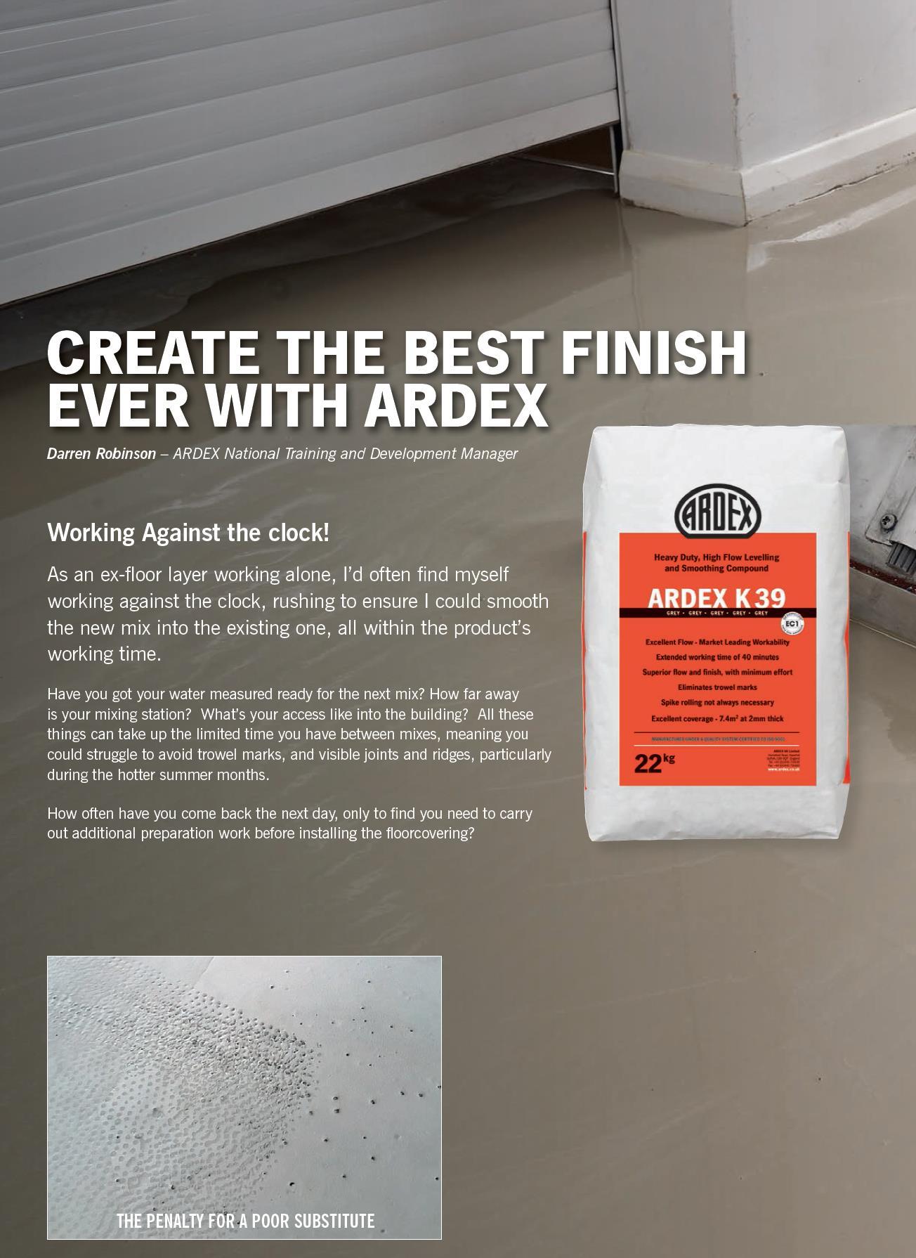 Ardex Feather Finish Ardex Primer Ardex K 39 Tiling