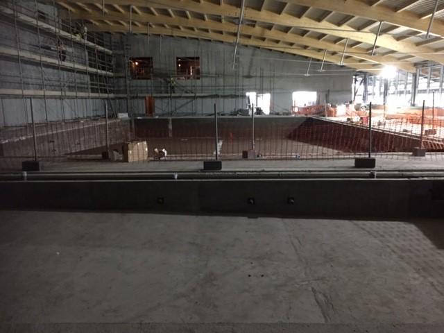 Progress Of Castlebar Pool Ardex New Projects