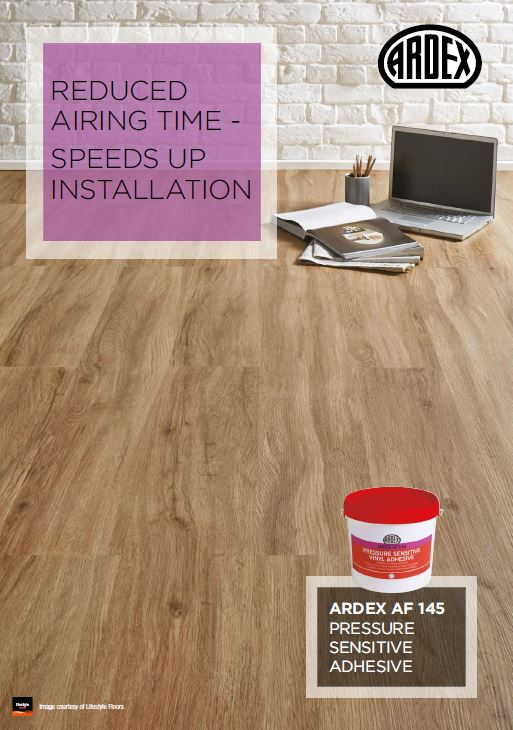 Ardex Reduced Airing Time