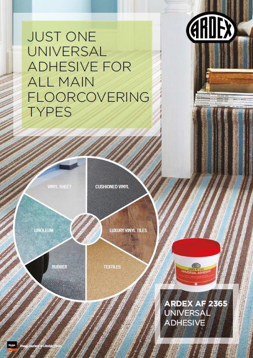 Ardex Universal Adhesive Types