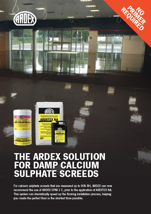 Ardex Solution Sulphate Screeds