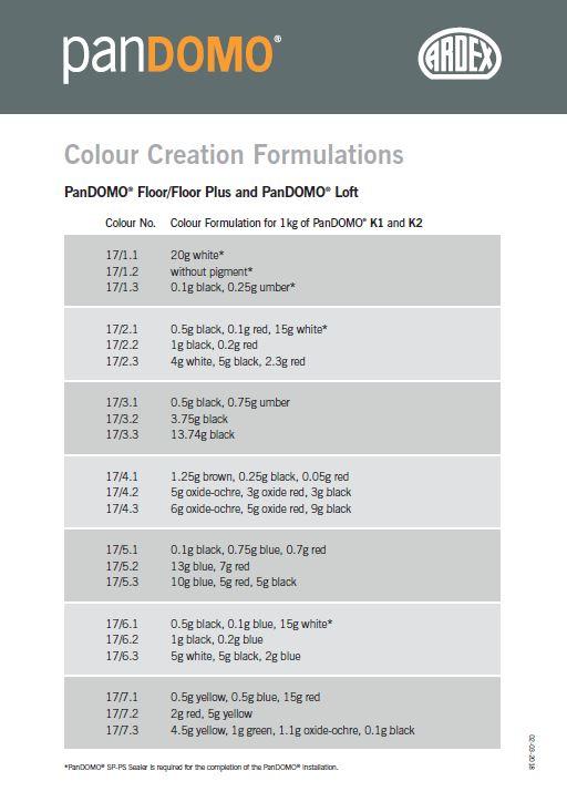 Ardex Colour Creations